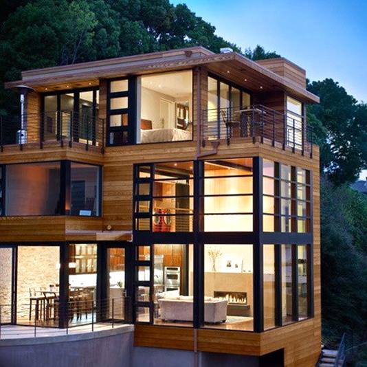 10 modern homes architecture sky rye design Architectural home builders