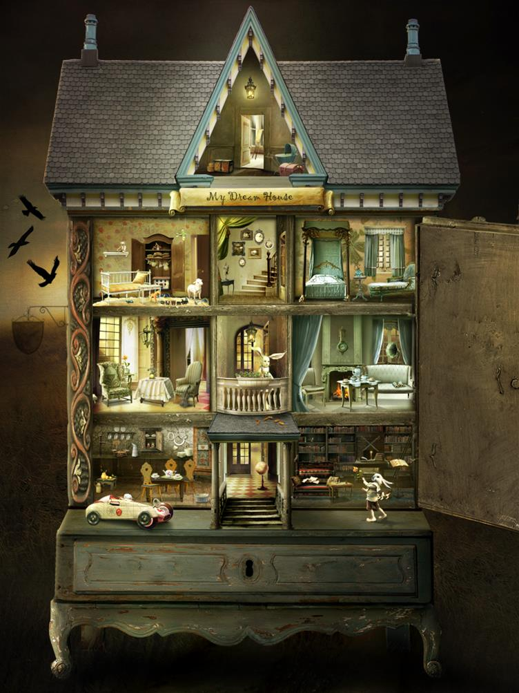 Dollhouse-Stunning Photo-Manipulations