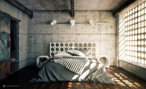 Industrial-Bedroom-840x515-home building designs-modern building design-building design-architectural plan