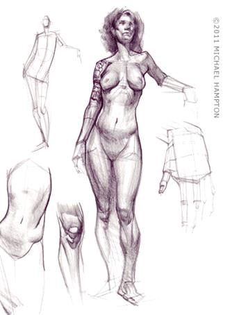 Michael_Hampton_019-How-to-draw-Human-Figure-Book-Michael-Hampton