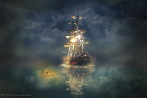 Night-Sail-840x560-Stunning Photo-Manipulations