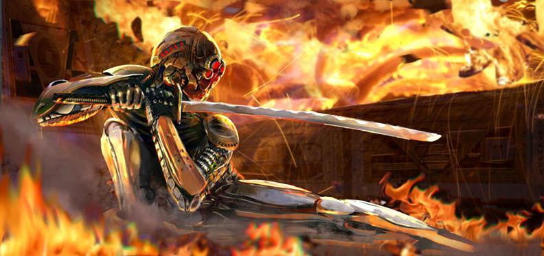 Ninja-rage-Great digital ArtWorks by Francisco Albert