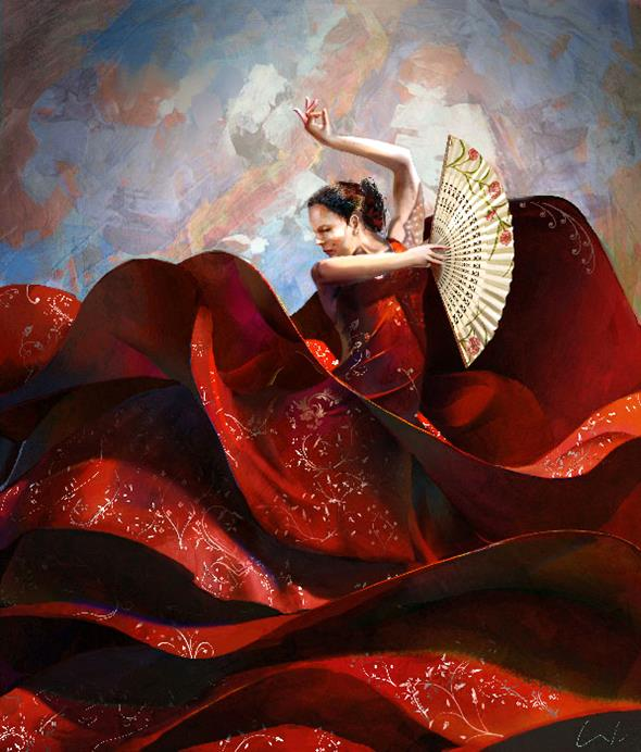 Red-Sea-Great digital ArtWorks by Francisco Albert
