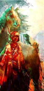 Samurai-spirit-Great digital ArtWorks by Francisco Albert