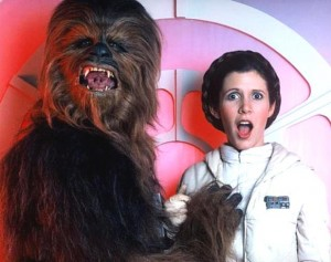 Star Wars - the story behind the scenes - Carrie Fisher