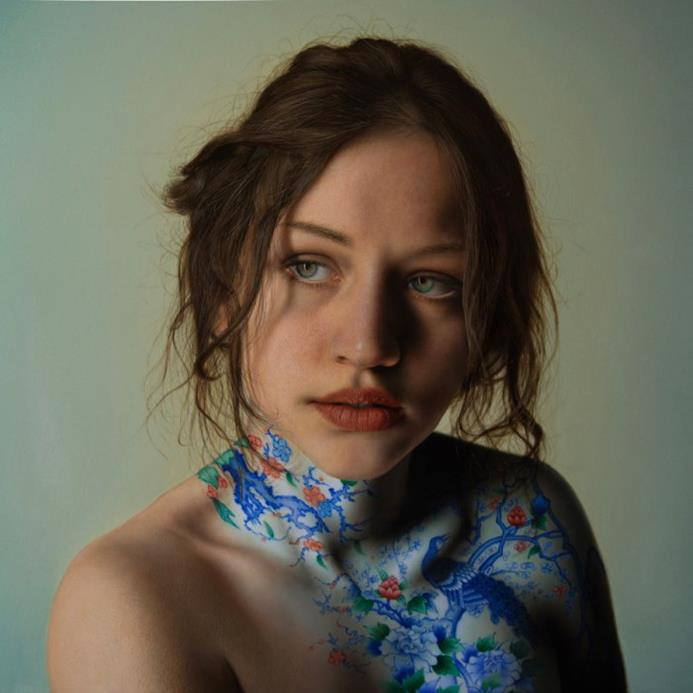 The-Garden-Hyper-Realistic-Painting-Marco Grassi