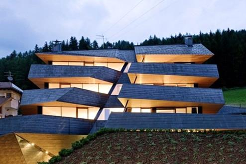 View of the Dolomites-modern home_architecture-home_architecture_design_architecturally designed homes