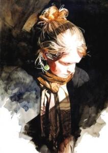 6 amazing watercolor portrait painters
