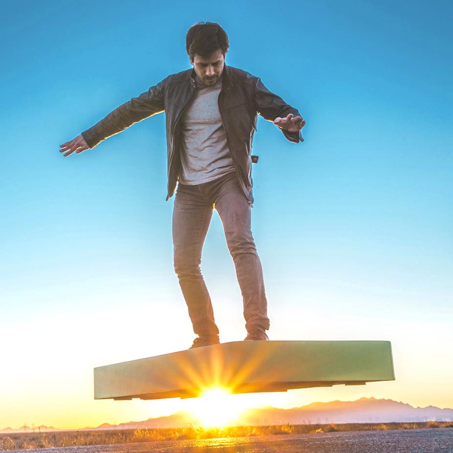 AcraBoard – your first real hoverboard