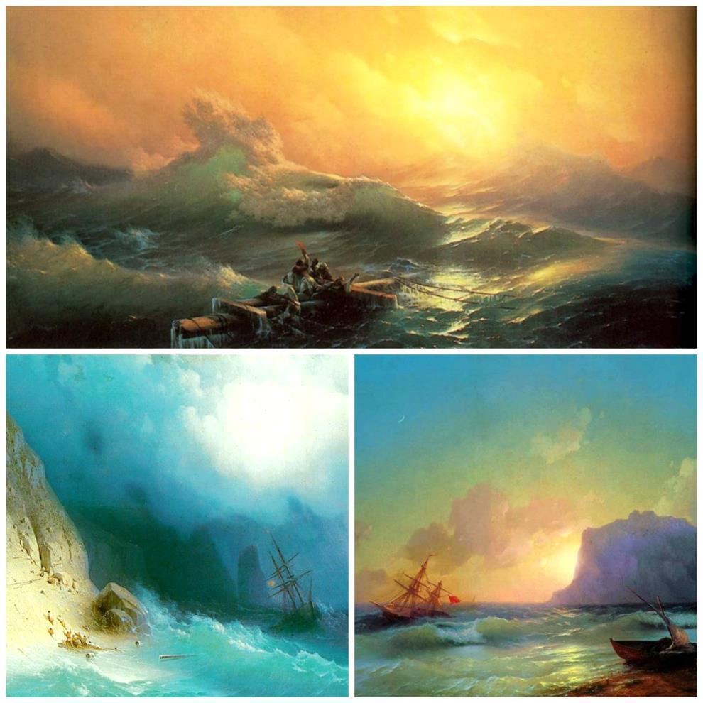 Ayvazovskiy-collage-modern-art-artist-sea