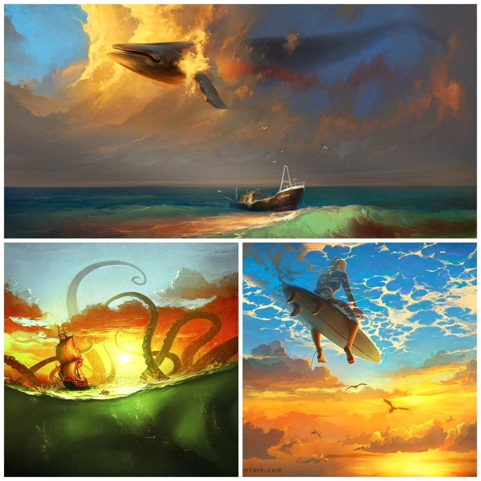 -Cheboha-collage-modern-art-artist-sea