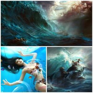 Dehong-He-collage-modern-art-artist-sea