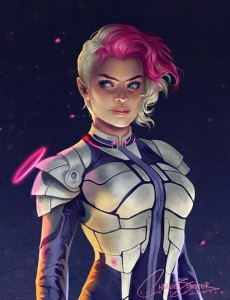 Low Gravity 2.0 by Charlie Bowater-Stunning-illustrations-design-top-artists