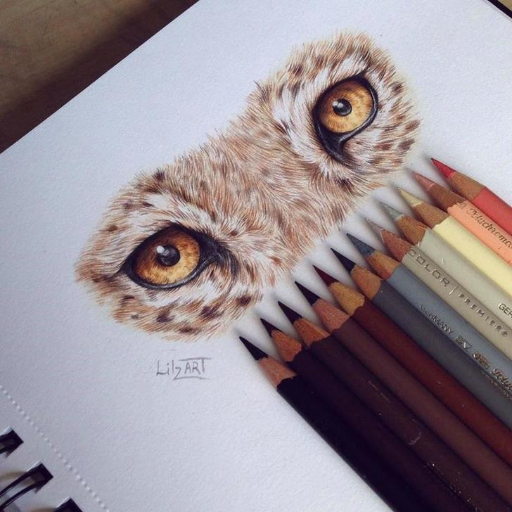 Mythical eyes by lilz_art-Stunning-illustrations-design-top-artists