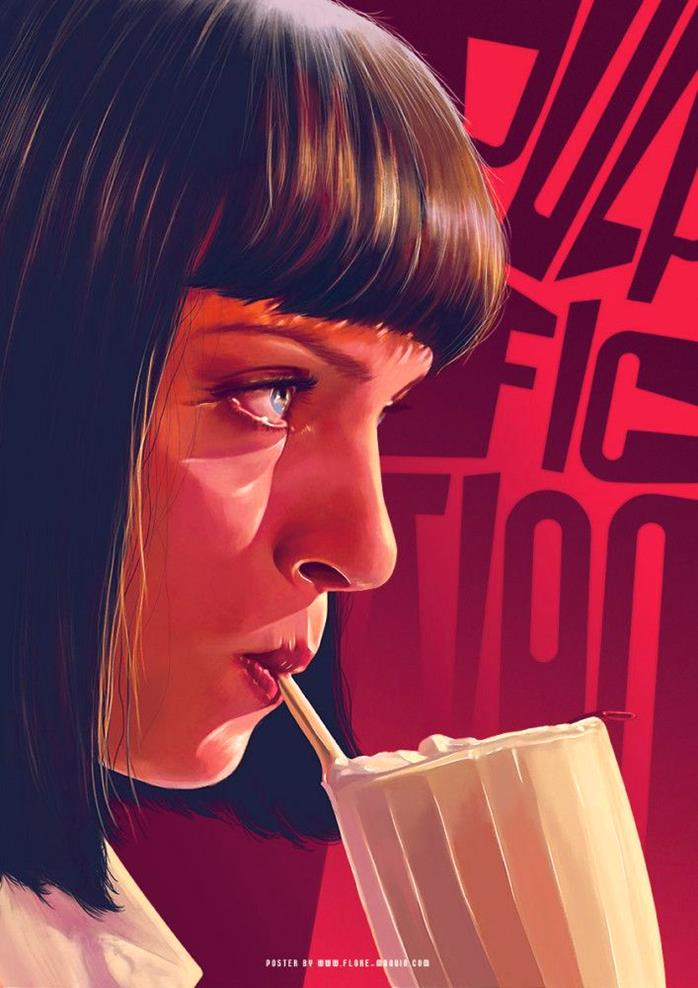 Pulp Fiction by Flore Maquin-Stunning-illustrations-design-top-artists