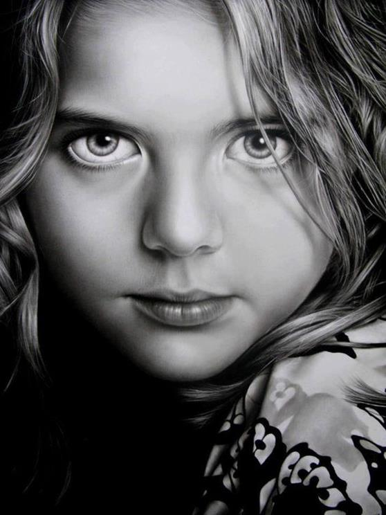 E0 hyper realistic pencil drawings art draw