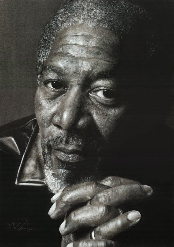 morgan_freeman_by_scratch12--Hyper-Realistic-Pencil-Drawings-art-Morgan-freeman