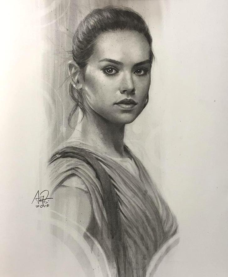 Rey by artgerm-Magnificent Illustrations-Drawings_paints