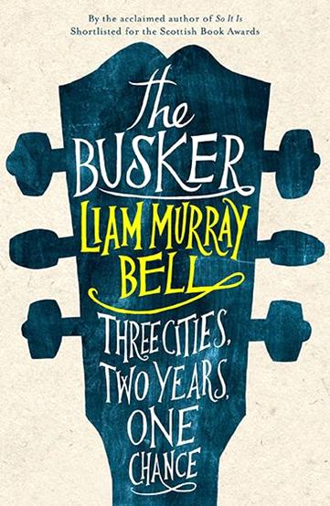 The Busker by Leo Nickolls-cover-books-design-illustrations