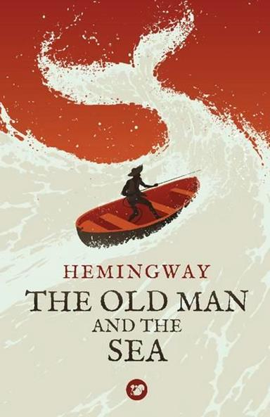 The Old Man And The Sea by Levente Szabo-cover-books-design-illustrations