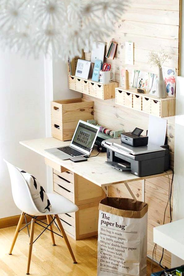 Clever Office Organisation 7 Diy Table
