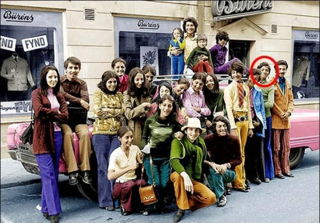 Osama bin Laden is on vacation with his family, Sweden, 1970