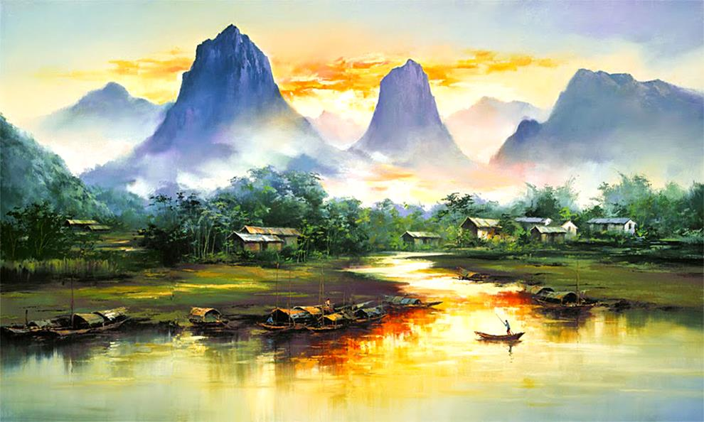 10kenhong2-famous artist-watercolor artists-new artists-painting artists-art painting-painter artist