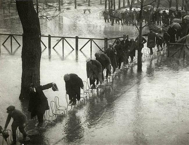 Flooding in Paris 1924