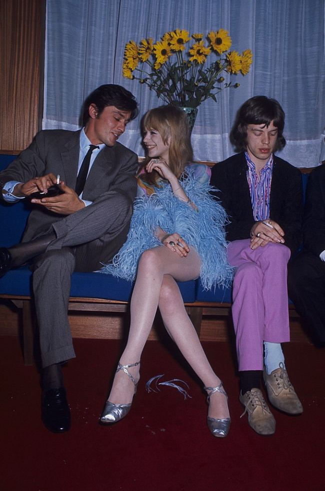 If your opponent Alain Delon. No chance. Even if you are Mick Jagger