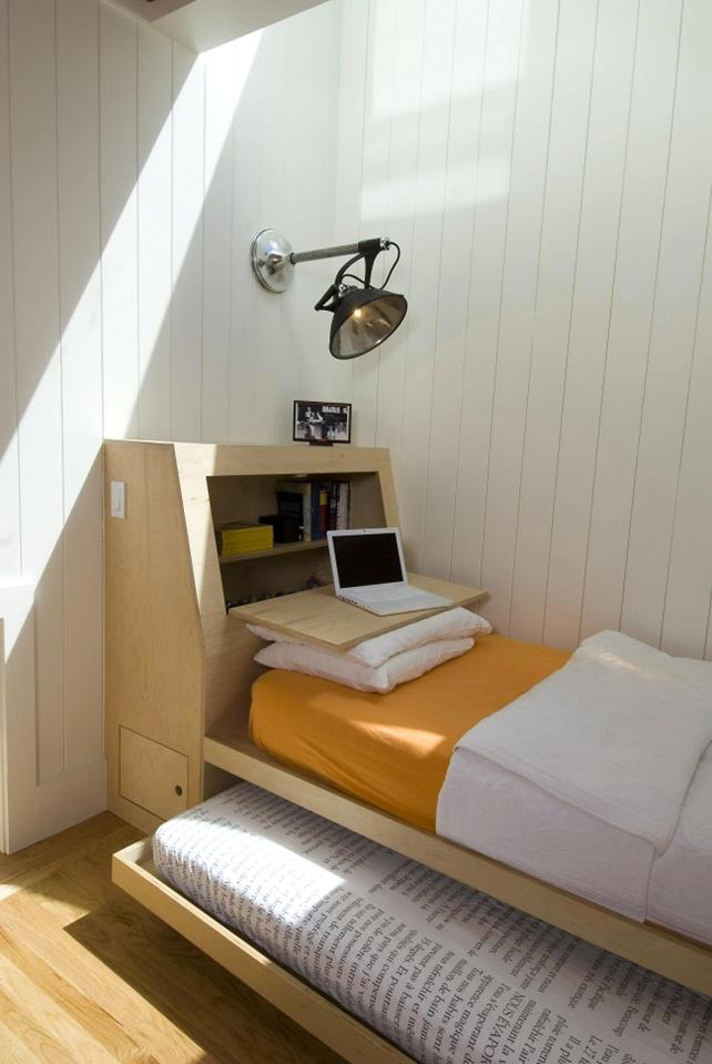 space-saver-beds-and-kid-bedding-also-reading-lamp-with-wood ...