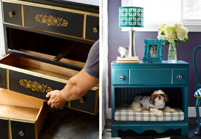 14 brilliant ideas for giving new life to old furniture
