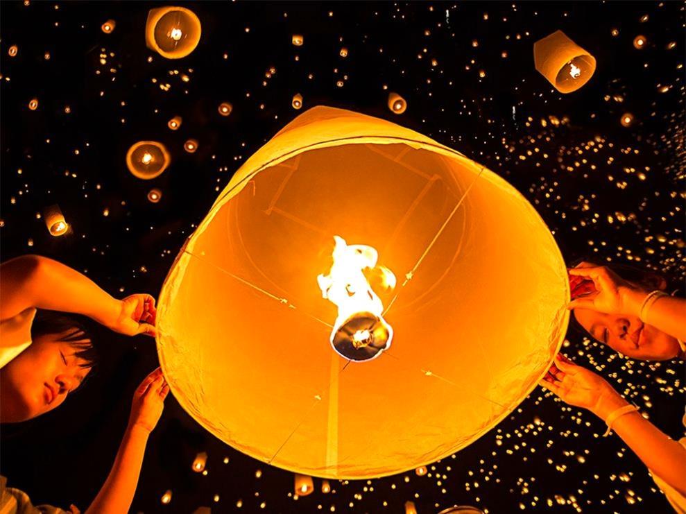 festival in Chiang Mai, Thailand