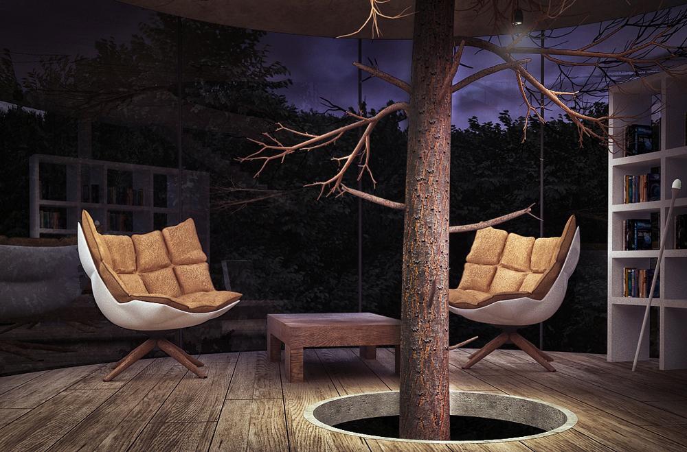tubular-glass-house-built-around-tree-masow-architects-7