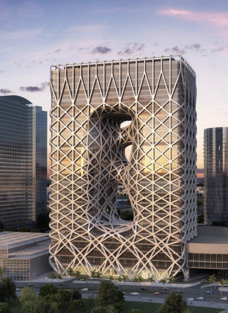 The City of Dreams Hotel Tower, Macau (China)