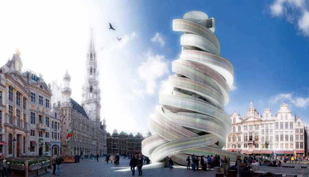 Spiral of Europe, City of Brussels
