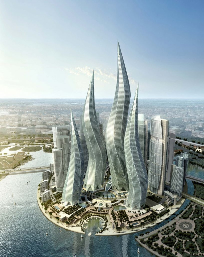 Dubai--Princess-Towers