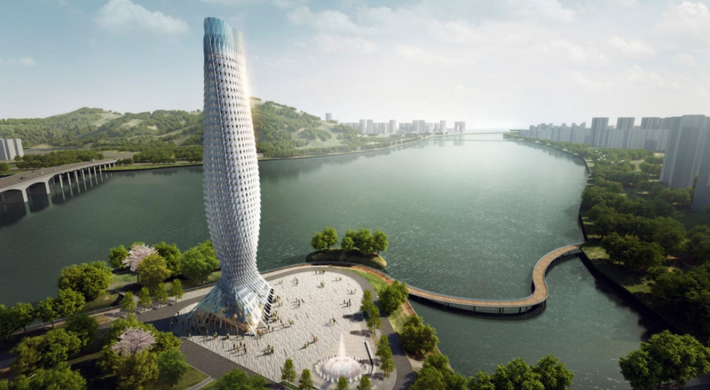 Scaly Tower, Zhuhai