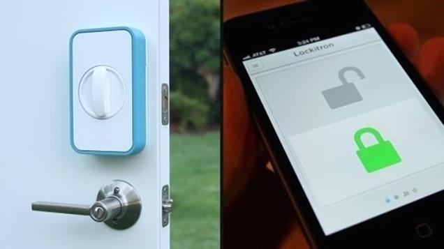 'Lockitron' unlocks your door without any keys