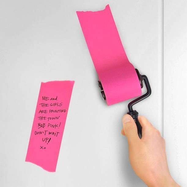 -desigThe sticky note roll