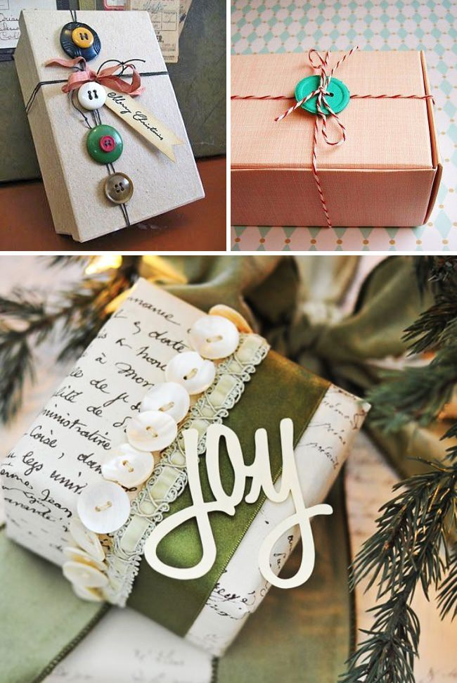 christmas gift wrap decorating ideas