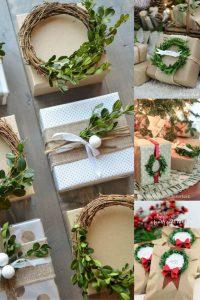 Green wreaths gift