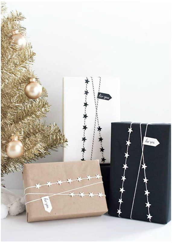 gift wrap crafts