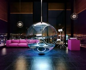 Spherical bath