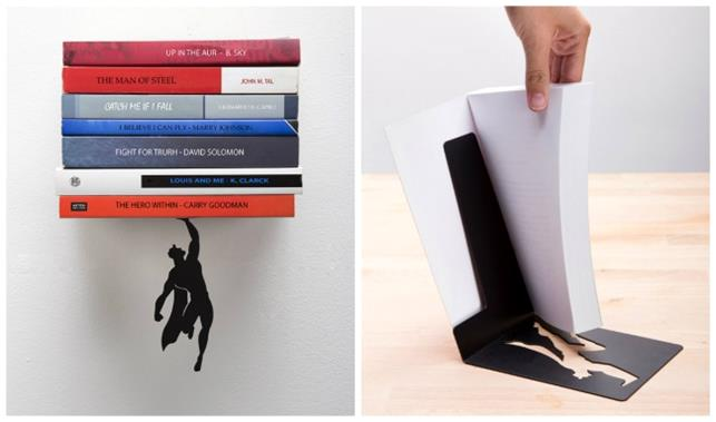 3-design-inventions Superheroes to keep your books-patent-interior design inventions-cool design inventions