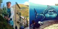 TOP 20 Stunning street art illusions