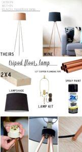 floor-lamp-hand-made-diy- diy-home-decor-craft-ideas