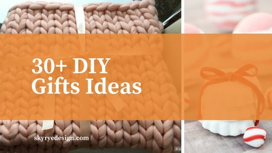 30+ diy gifts ideas