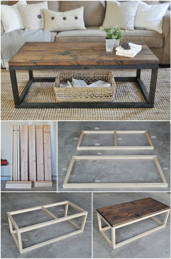 awesome diy coffee table woodworking projects