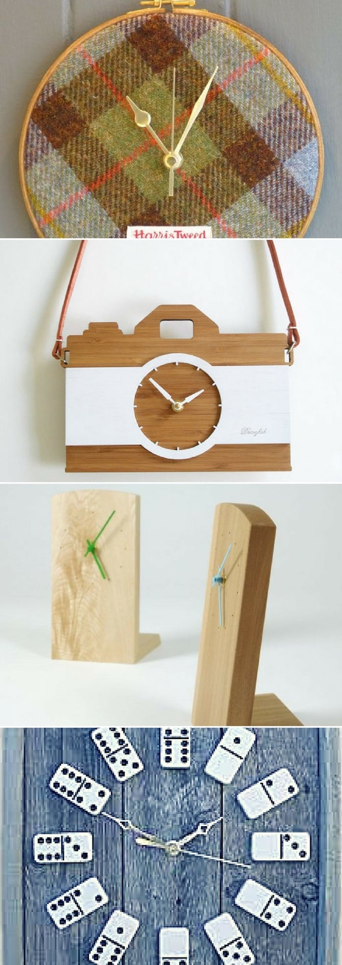 For a gift clock