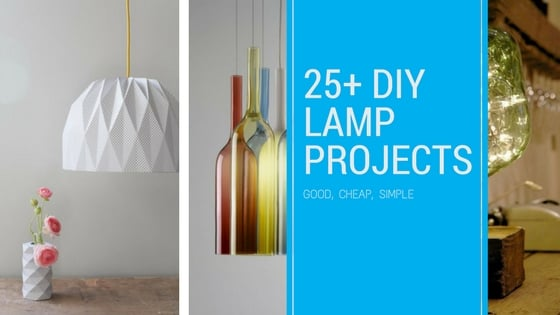 25+ diy lamp shade projects – ideas